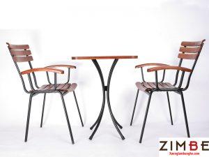 Bàn ghế cafe cóc ZimMoon