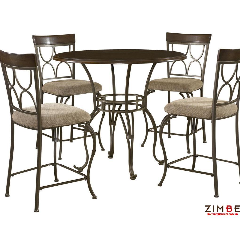 Bàn ghế sắt cafe cổ điển 18 – Hotline : 0972075902 – 0943649130