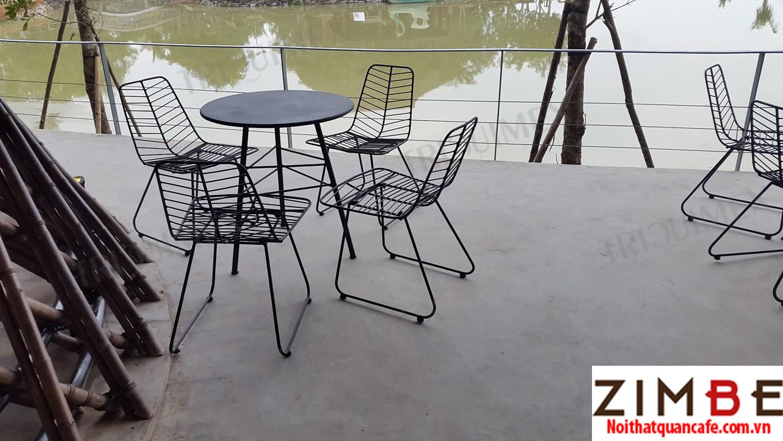 Bàn ghế sắt cafe cổ điển 20 – Hotline : 0972075902 – 0943649130