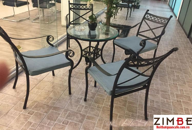 Bàn ghế sắt cafe cổ điển 03 – Hotline : 0972075902 – 0943649130