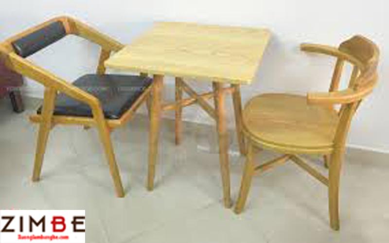 Bàn cafe gỗ ngoài trời 02 – Hotline : 0972075902 – 0943649130