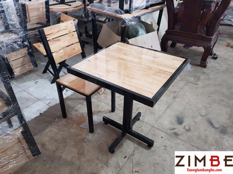 Bàn cafe gỗ ngoài trời 11 – Hotline : 0972075902 – 0943649130