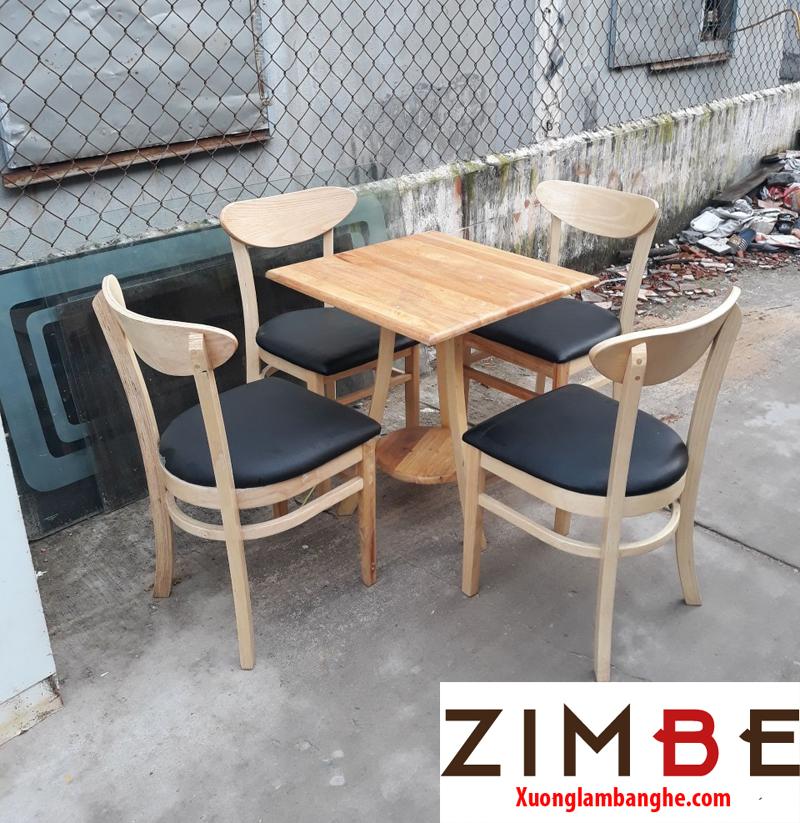 Bàn cafe gỗ ngoài trời 07 – Hotline : 0972075902 – 0943649130