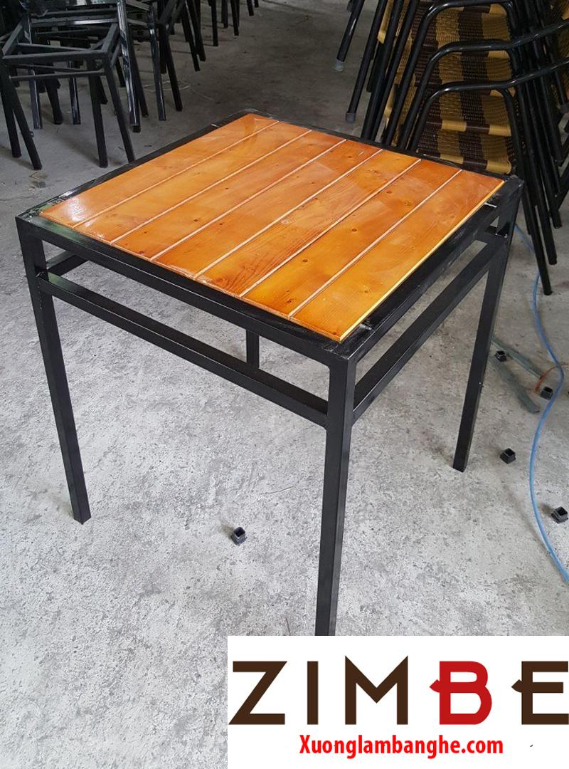 Bàn cafe gỗ ngoài trời 10 – Hotline : 0972075902 – 0943649130