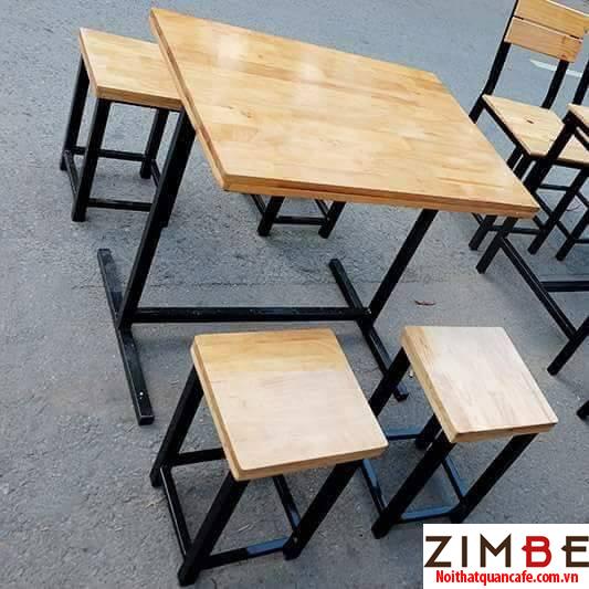 Bàn gỗ chân gỗ 20 - Hotline : 0972075902 - 0943649130