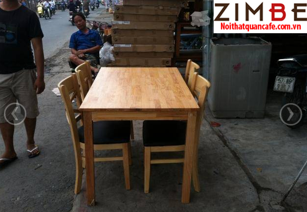 Bàn gỗ chân gỗ 09 - Hotline : 0972075902 - 0943649130