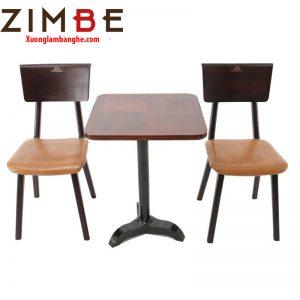 Bàn ghế cafe cóc Zimalto