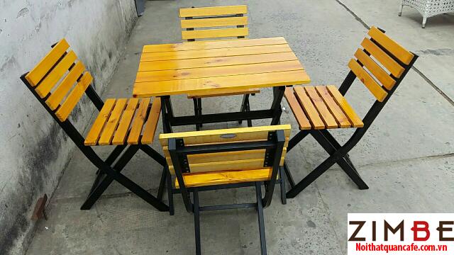 Bàn ghế xếp cafe cóc 24 – Hotline : 0972075902 – 0943649130
