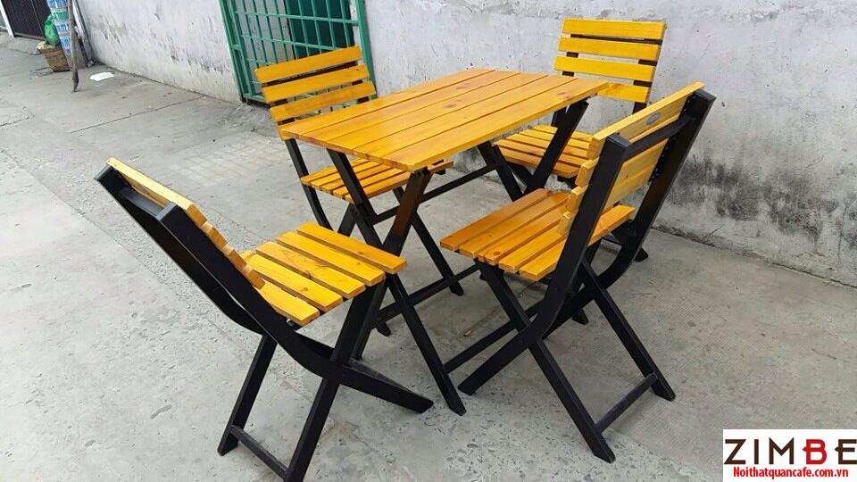 Bàn ghế xếp cafe cóc 25 – Hotline : 0972075902 – 0943649130