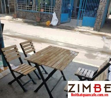 Bàn ghế xếp cafe cóc 03 – Hotline : 0972075902 – 0943649130