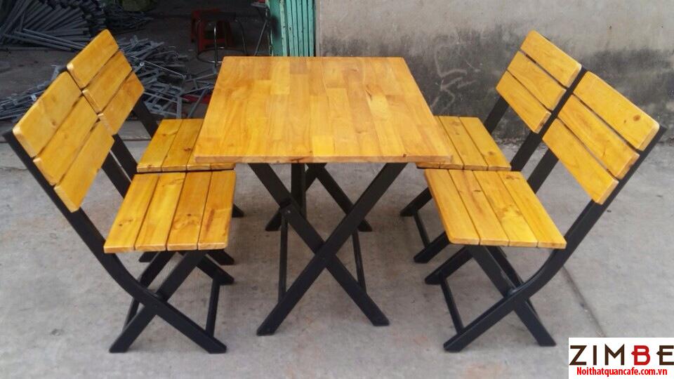 Bàn ghế xếp cafe cóc 12 – Hotline : 0972075902 – 0943649130