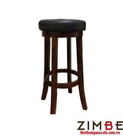 Ghế bar chân gỗ không có tựa 01 - Hotline : 0972075902 – 0943649130