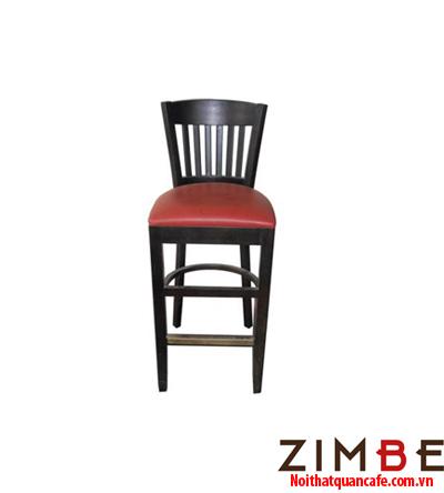Ghế bar chân gỗ có tựa 08 - Hotline : 0972075902 – 0943649130