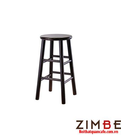 Ghế bar chân gỗ không có tựa 02 - Hotline : 0972075902 – 0943649130