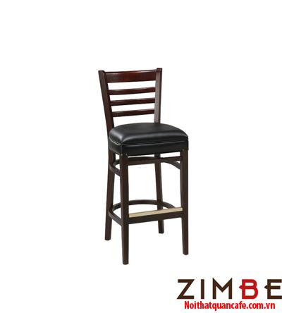 Ghế bar chân gỗ có tựa 05 - Hotline : 0972075902 – 0943649130