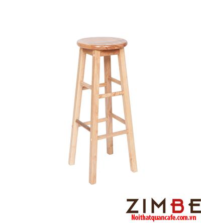 Ghế bar chân gỗ không có tựa 03 - Hotline : 0972075902 – 0943649130