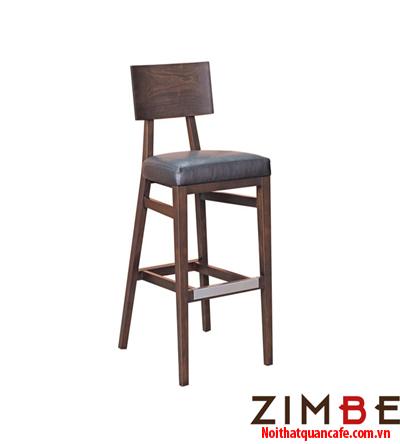 Ghế bar chân gỗ có tựa 07 - Hotline : 0972075902 – 0943649130