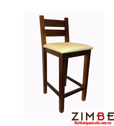 Ghế bar chân gỗ có tựa - Hotline : 0972075902 – 0943649130