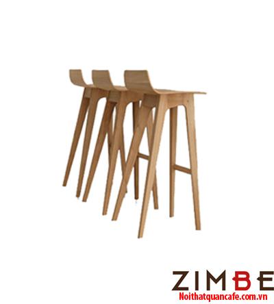 Ghế bar chân gỗ có tựa 09 - Hotline : 0972075902 – 0943649130