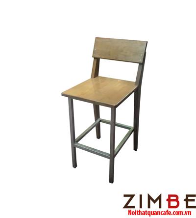 Ghế bar chân sắt có tựa 01 - Hotline : 0972075902 – 0943649130