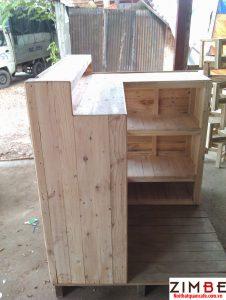 Quầy bar gỗ