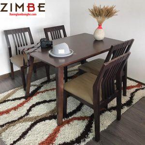 Bàn ghế ZimBgo nhà hàng