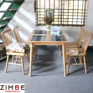 Bàn ghế Zimrio nhà hàng