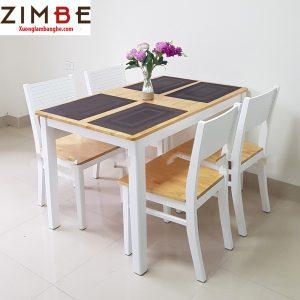 Bàn ghế ăn nhà hàng Zimry