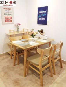 Bàn ghế nhà hàng đẹp Zimgo