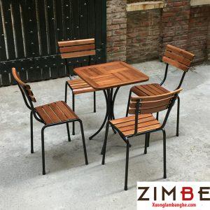 Bàn ghế cafe cóc ZimKite