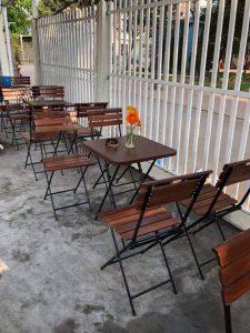 Bàn ghế xếp cafe ZimPatio