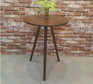 Bàn cafe gỗ tròn DK60