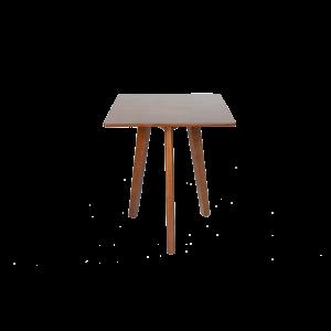 Bàn cafe gỗ vuông 60×60