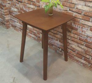 Bàn gỗ cafe vuông 60×60