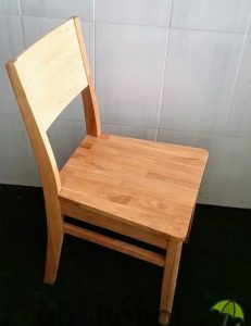 Ghế cafe mặt gỗ Zimry