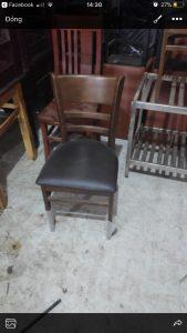 Ghế gỗ cafe Zimbin siêu hót