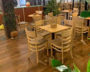 Bàn ghế cafe Zimbin siêu phẩm bán chạy nhất