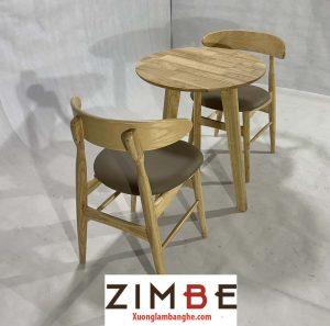 Bàn ghế cafe cách điệu Zimbnar