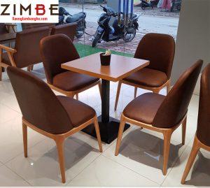 Bàn ghế cafe cao cấp ZimGrace