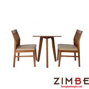Bàn ghế cafe Zimbgo siêu chắc chắn