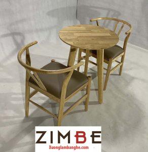 Bàn ghế cafe Zimbone