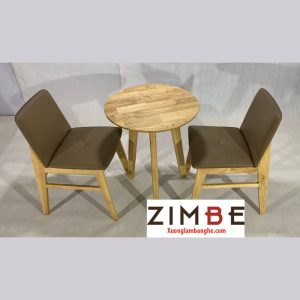 Bộ bàn ghế cafe Zimdo