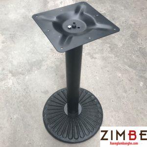Chân bàn gang mặt tròn hình cánh quạt