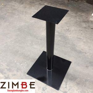 Chân bàn sắt đế hình vuông đơn giản