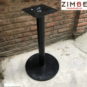 Chân bàn sắt đế tròn đơn giản