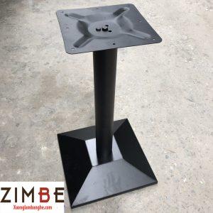 Chân bàn sắt hình vuông bán siêu chạy