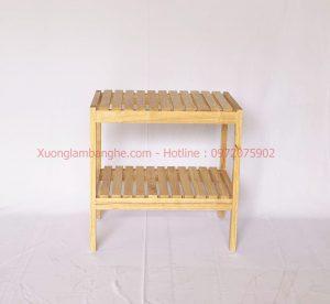 Kệ gỗ đa năng dài 50cm 2 tầng