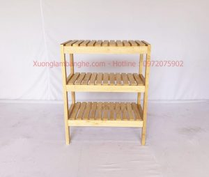 Kệ gỗ đa năng dài 50cm 3 tầng