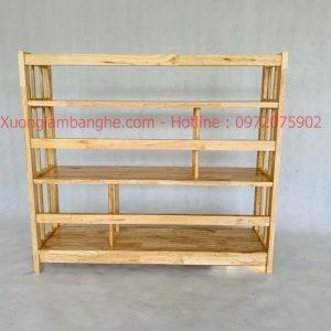 Kệ sách bằng gỗ 3 tầng 1m